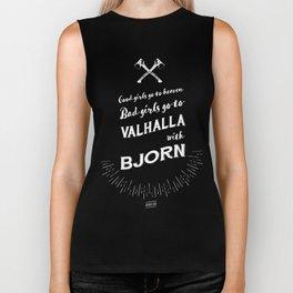 Bad girls go to Valhalla... With Bjorn! Biker Tank