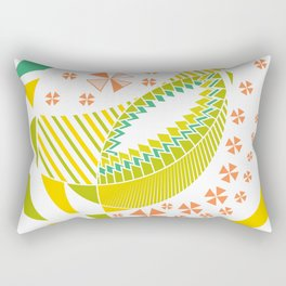 "Abstract pysanka ""waiting for spring"" Rectangular Pillow"