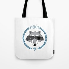 Mr. Raccoon Tote Bag