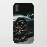 ferrari iPhone & iPod Cases featuring Ferrari F430 by Vasco Estrelado - Photographer