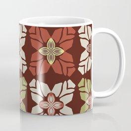 Trendy Retro Style Flower Coffee Mug
