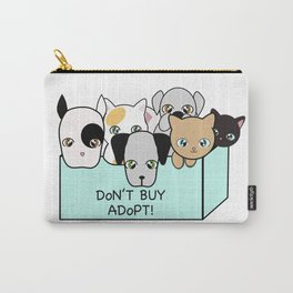 Adopt, don't shop! Carry-All Pouch