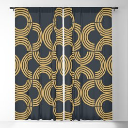 Deco Geometric 01 Blackout Curtain
