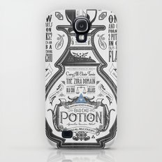 Legend of Zelda Blue Chu Potion Advertisement Slim Case Galaxy S4