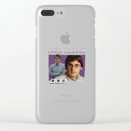 Louis Theroux BBC Clear iPhone Case