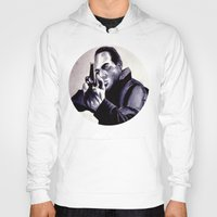 washington Hoodies featuring Peter Washington by Zombie Rust