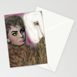 The Werewolf Pondering Stationery Cards