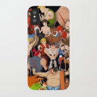 street fighter iPhone & iPod Cases featuring Street Fighter by Peerro