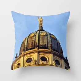 French Cathedrale - Gendarmenmarkt - Berlin Throw Pillow