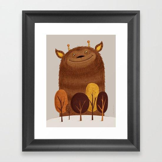 Geoffrey Framed Art Print