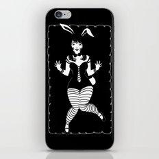 Lapin Noir iPhone & iPod Skin