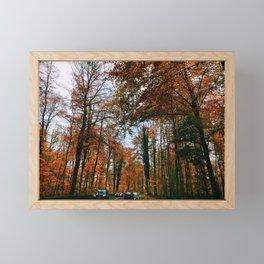 Fall Drives Framed Mini Art Print
