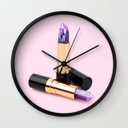 LIPSTICK QUARTZ Wall Clock