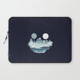 Winter skull Laptop Sleeve