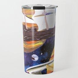 Space Ships Travel Mug