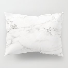 White Marble 006 Pillow Sham