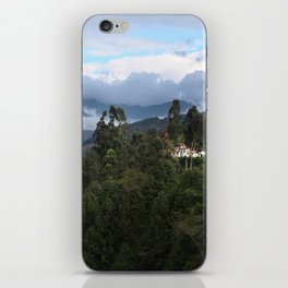 A house in the mountains  iPhone Skin