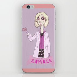 but i'm a zombie iPhone Skin