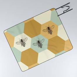 Beehive Picnic Blanket