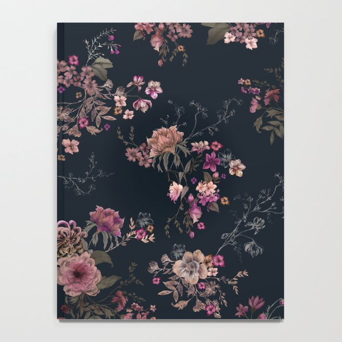Japanese Boho Floral Notebook