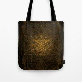 Dark Matter - Gold - By Aeonic Art Tote Bag