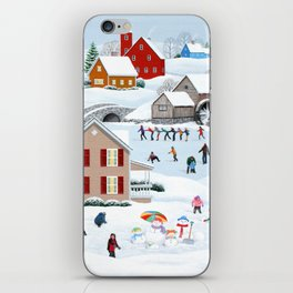 Once Upon a Winter iPhone Skin