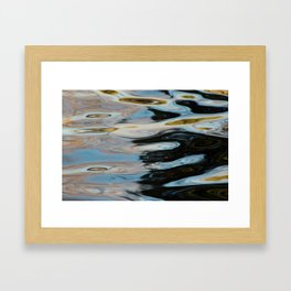 Abstract Water Surface Framed Art Print