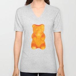 Gummy Bear Polygon Art Unisex V-Neck