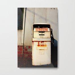 Kerosene Metal Print