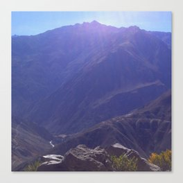 Top of the Rockies Canvas Print