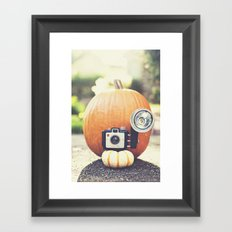 Big Pumpkin Framed Art Print
