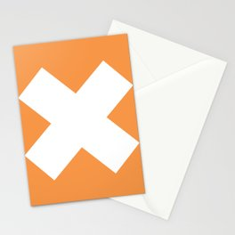X WHITE Stationery Cards
