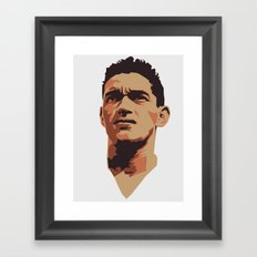 Garrincha Framed Art Print