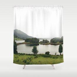 pictoresque norway Shower Curtain