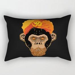 Stoned Monkey Rectangular Pillow