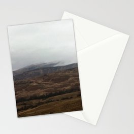 The mist rolling in Stationery Cards