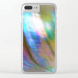 Peaceful Abalone Clear iPhone Case