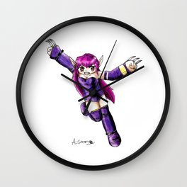 Nei the numan Wall Clock