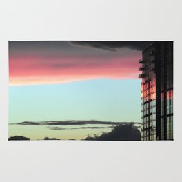 """Sunrise in the City"" Rug"