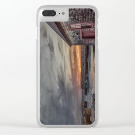 Lanes cove Sunset 5-5-18 Clear iPhone Case