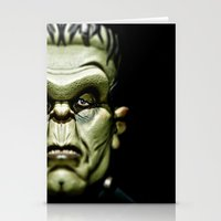 frankenstein Stationery Cards featuring Frankenstein by Sergio Bastidas