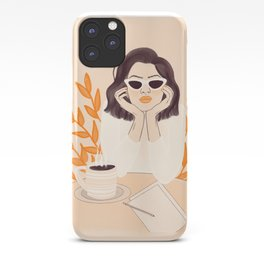 Coffee Shop Afternoon iPhone Case