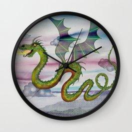 Dragon Kite Wall Clock