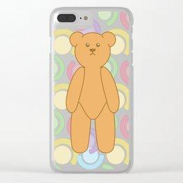 Teddy Bear Bonanza Clear iPhone Case