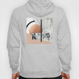 Collage II ( marble, copper, volcanic rock) Hoody