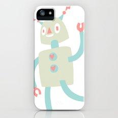 Robot Love Slim Case iPhone (5, 5s)