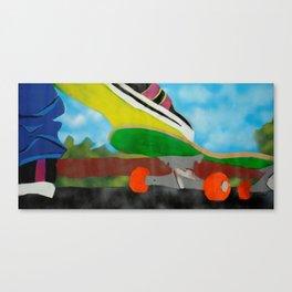 Lemon Sole Canvas Print