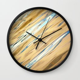 River Waters II Wall Clock