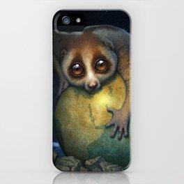 Loris Planet iPhone Case