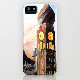Tour Horloge des Pitres iPhone Case